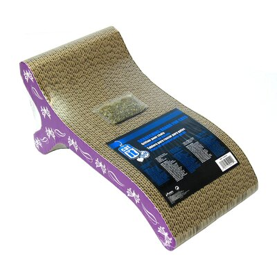 Catit Chaise Cardboard Scratching Board 52419