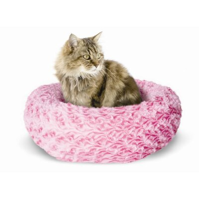 Catit X-Small Style Donut Rosebud Cat Bed Color: Pink