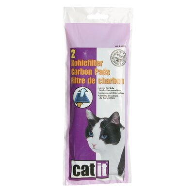 Catit Carbon Pads for Hooded Cat Pan (Set of 4) 50851