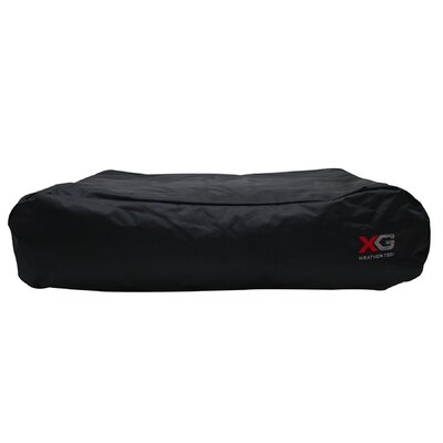Dogit X-Gear Weather Tech Dog Pillow Size: Medium (36 L x 24 W), Color: Black