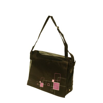 Dogit Messenger Bag Dog Carrier Color: Argyle Black