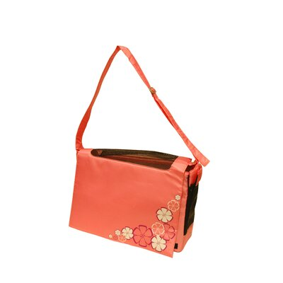 Dogit Messenger Bag Dog Carrier Color: Aloha Pink