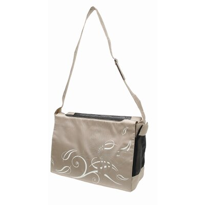 Dogit Messenger Bag Dog Carrier Color: Butterfly Beige