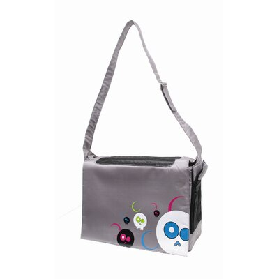 Dogit Messenger Bag Dog Carrier Color: Da Face Grey