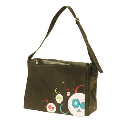 Dogit Messenger Bag Dog Carrier Color: Da Face Black