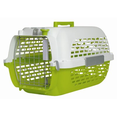 Dogit Model 100 Voyager Pet Carrier Size: Small (11 H x 12.8 W x 19 L), Color: Green