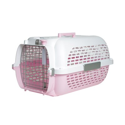 Dogit Model 100 Voyager Pet Carrier Size: Medium (12 H x 14.8 W x 22 L), Color: Pink
