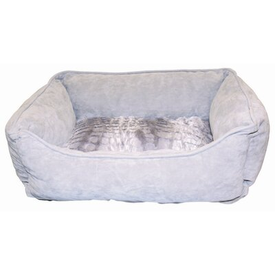 Dogit Style Cuddle Donut Dog Bed Size: X-Small (17 L x 14 W), Color: Wild Animal/ Purple