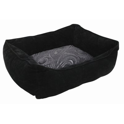 Dogit Style Cuddle Donut Dog Bed Color: Black Retro