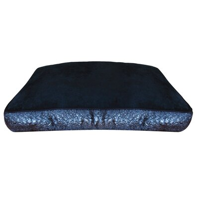 Dogit Style Serpentine Dog Pillow Size: Small (31.5 L x 21.5 W), Color: Black