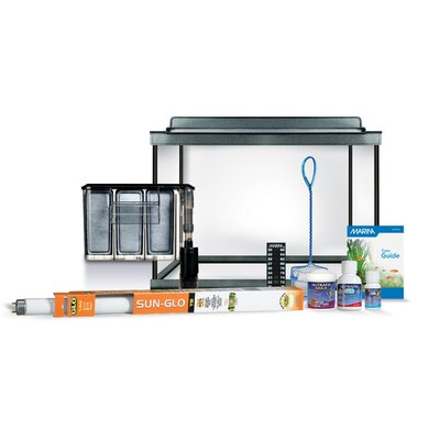Marina Deluxe Aquarium Kit Size: 10 Gallons