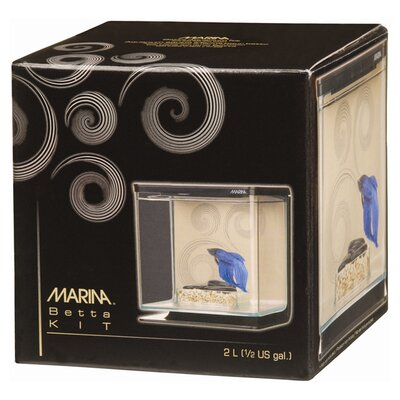Marina Zen Theme Betta Aquarium Kit Size: Small