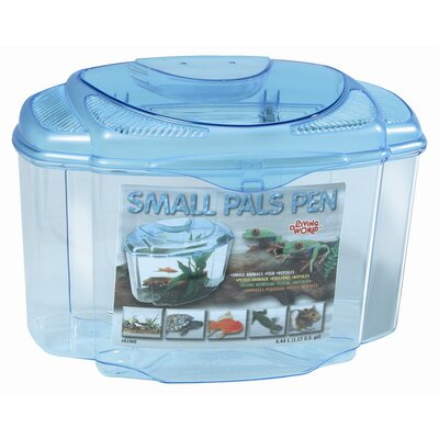 Living World Pals Pen Aquarium Kit Size: 8.2 H x 9 W x 8.5 D