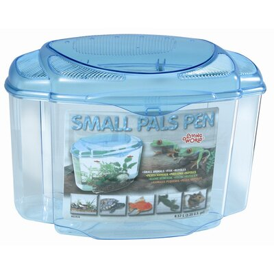 Living World Pals Pen Aquarium Kit Size: 8.2 H x 11.6 W x 7.1 D