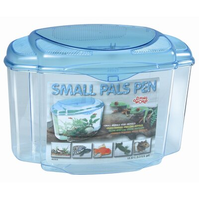 Living World Pals Pen Aquarium Kit Size: 11.2 H x 15.8 W x 9.5 D