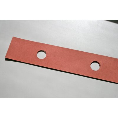 Pin and Post Cabinet Divider Strip Size: 3