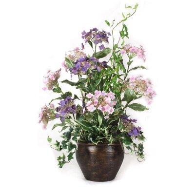 Hydrangeas in Vase image
