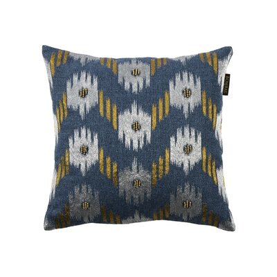 Ikat Chevron 18 Square Throw Pillow