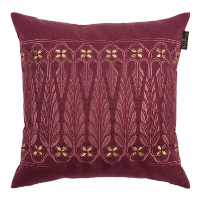 Bombay Point De Lac Throw Pillow