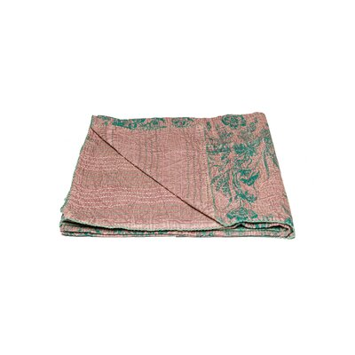 Kantha Vintage Handmade Cotton Throw