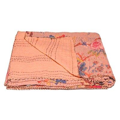 Kantha Vintage Handmade Cotton Throw