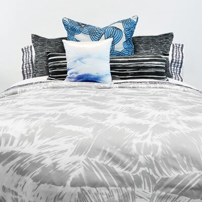 Cielo Plume Cotton Pillow Sham Size: Standard