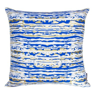 Cristal Marble Cotton Throw Pillow