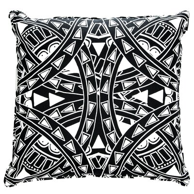 El Apache Tattoo Cotton Throw Pillow