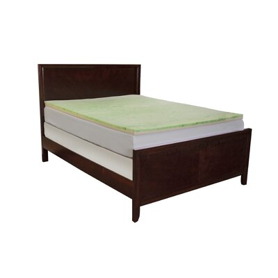 Enviro Tech 3 Gel Memory Foam Mattress Topper Size: Twin