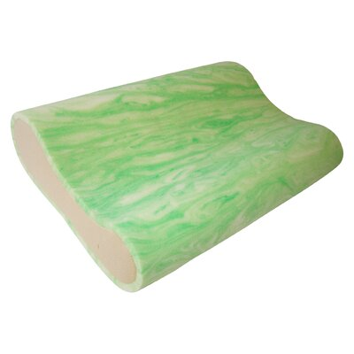 Gel Rayon from Bamboo Memory Foam Pillow Size: Standard