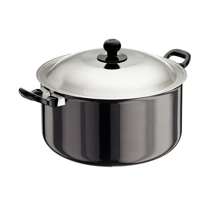 Futura Hard Anodised Cook and Serve Stewpot - Size: 8.98 qt.