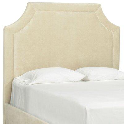 Tory Furniture Dreamtime Upholstered Headboard - Size: Full, Color: Linen