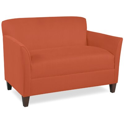 City Spaces Broadway Loveseat Upholstery: Tangelo