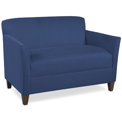 City Spaces Broadway Loveseat Upholstery: Navy