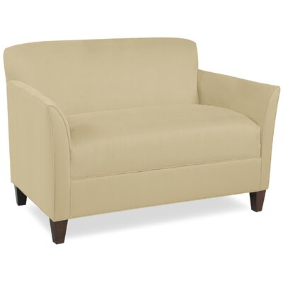 City Spaces Broadway Loveseat Upholstery: Beige