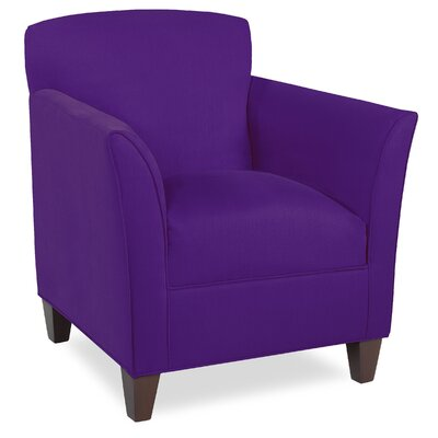 City Spaces Broadway Armchair Upholstery: Eggplant
