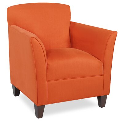City Spaces Broadway Armchair Color: Tangelo