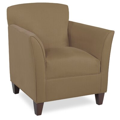 City Spaces Broadway Armchair Upholstery: Stone