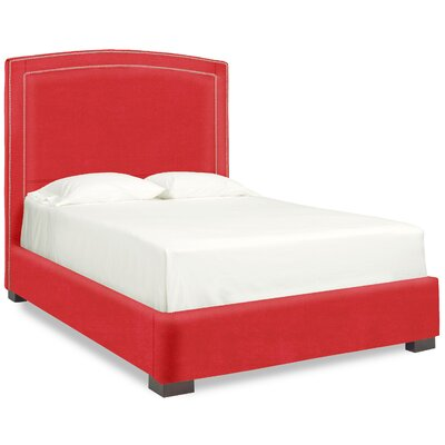 Dreamtime Upholstered Panel Bed Size: Queen, Color: Scarlet