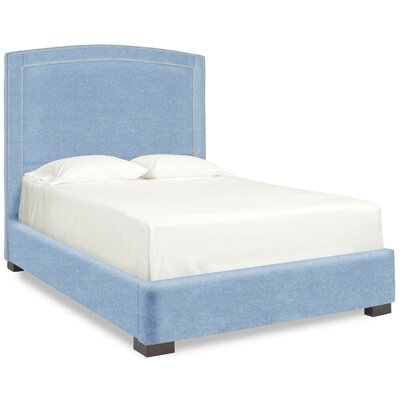 Dreamtime Upholstered Panel Bed Size: Full, Upholstery: Sky