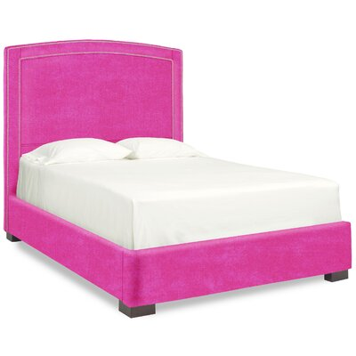 Dreamtime Upholstered Panel Bed Size: Queen, Color: Fuchsia