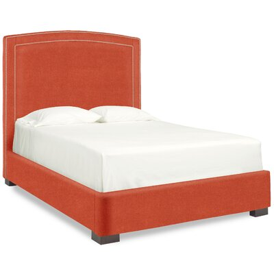 Dreamtime Upholstered Panel Bed Size: Full, Color: Tangelo