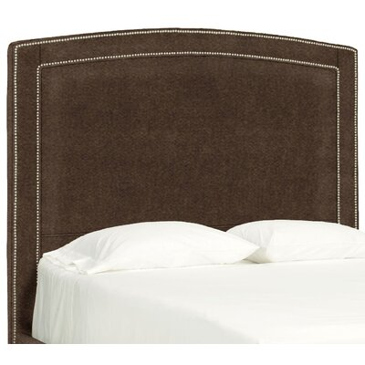 Dreamtime Upholstered Panel Headboard Size: Queen, Upholstery: Chocolate