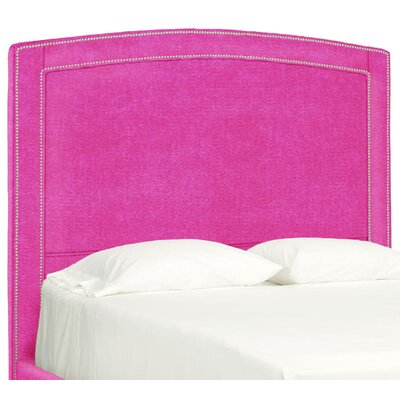 Dreamtime Upholstered Panel Headboard Size: Queen, Upholstery: Fuchsia