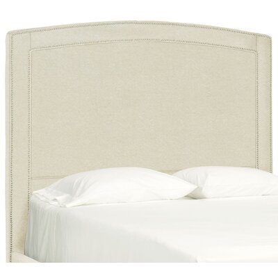 Dreamtime Upholstered Panel Headboard Size: Queen, Upholstery: Cream