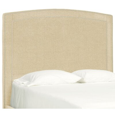 Dreamtime Upholstered Panel Headboard Size: Queen, Upholstery: Beige
