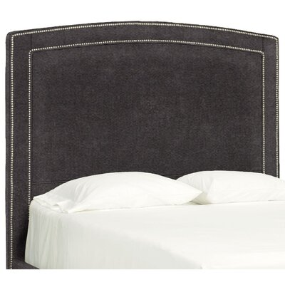 Dreamtime Upholstered Panel Headboard Size: Queen, Upholstery: Dark Ash