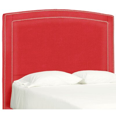 Dreamtime Upholstered Panel Headboard Size: Queen, Upholstery: Scarlet