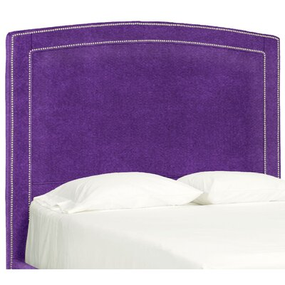 Dreamtime Upholstered Panel Headboard Size: Full, Upholstery: Eggplant