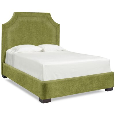 Dreamtime Upholstered Panel Bed Upholstery: Grass, Size: Queen